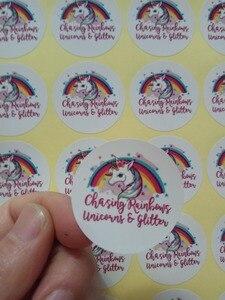 Image 3 - 65Mm Custom Logo Afdrukken Sticker Label