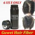 Toppik hair building fibers botella de adelgazamiento de pérdida de cabello 9 colores