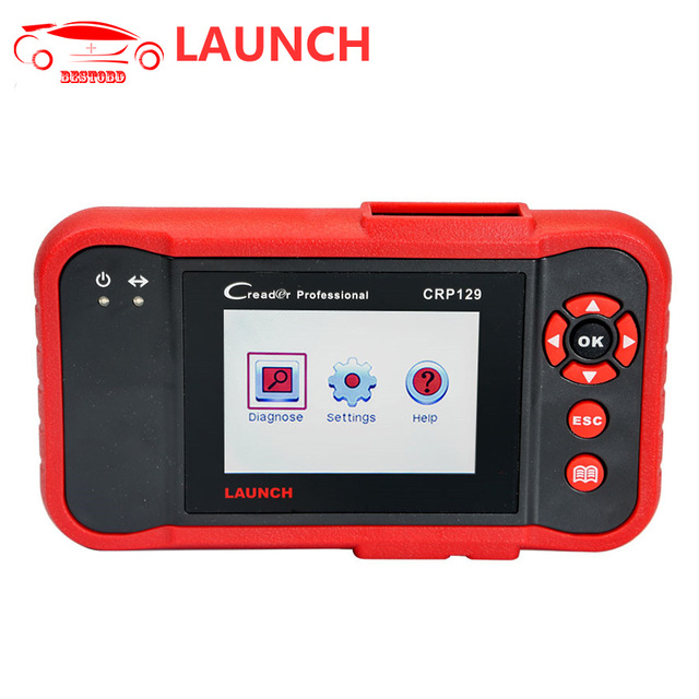 US $278 0 |LAUNCH CRP129 Car Code Reader Support ENG/TCM/ABS/SRS System  Diagnosis OBD2 Diagnostic Tool for Multi car models free Update-in Engine