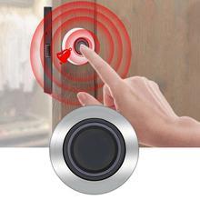 Semiconductor Fingerprint Keyless Drawer Office File Cabinet Lock Semi-embedded Integrated Installation