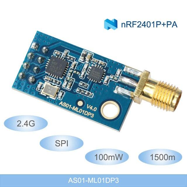 2.4 gam RF Module Không Dây Mô-đun NRF24L01 + PA + LNA 1.5 km NRF24L01 SPI Dữ Liệu Không Dây Module Truyền 2.4 ghz rf Receiver Transmitter