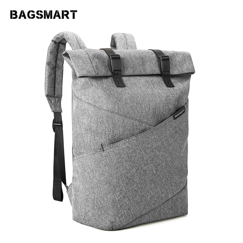 BAGSMART 15 6 Inch Laptop Backpack Travel Waterproof Backpack Rucksack School Bag Fashion Notebook Computer Bag