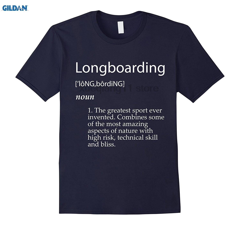 GILDAN Long Boarding Definition T-Shirt - Sick Longboard shirt