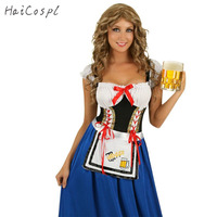 New Plus Size Oktoberfest Costume for Women Octoberfest Bavarian Party Beer Party Female Oktoberfest Dress XL L M