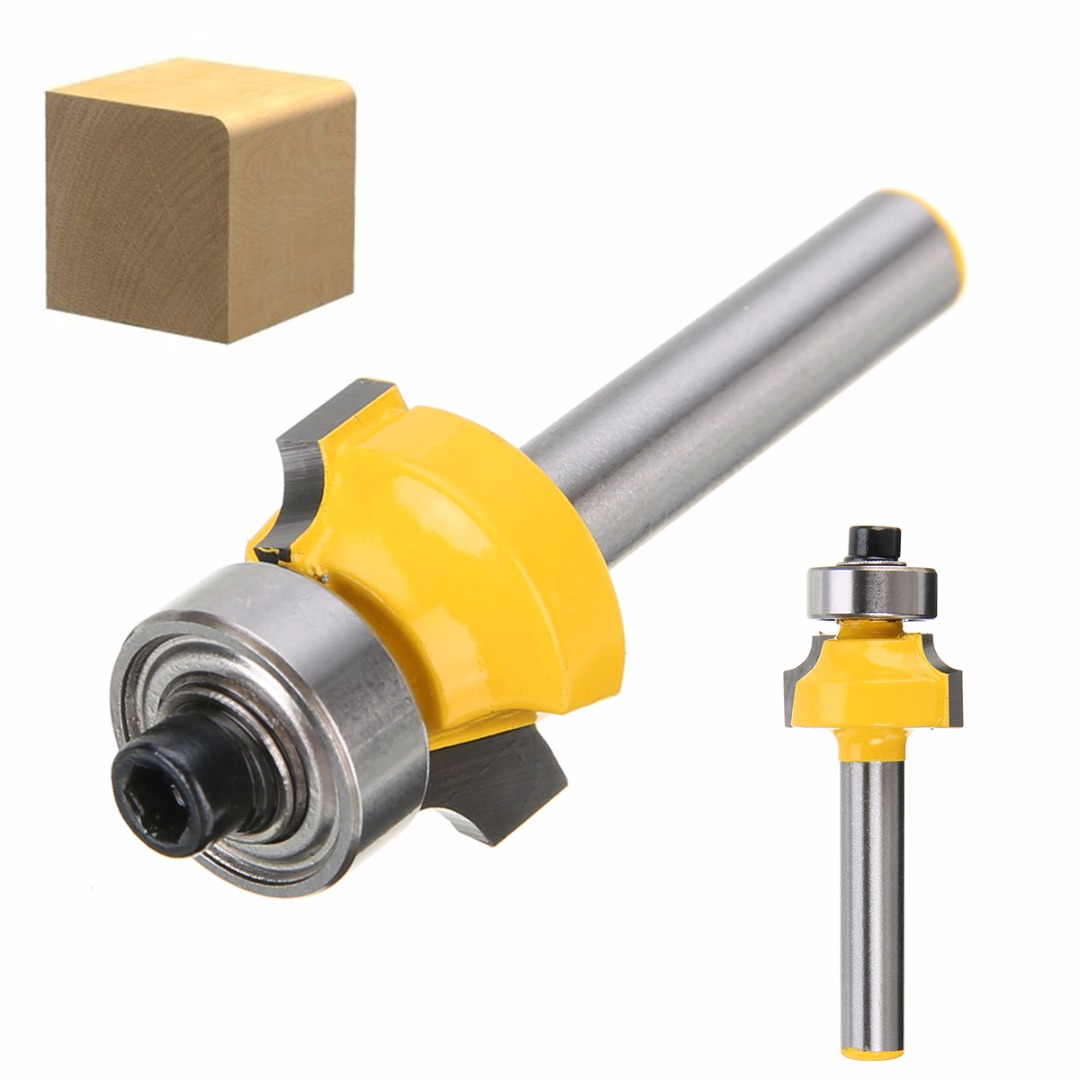 1pc Carbide Round Over Edging Router Bit Mayitr 1/8