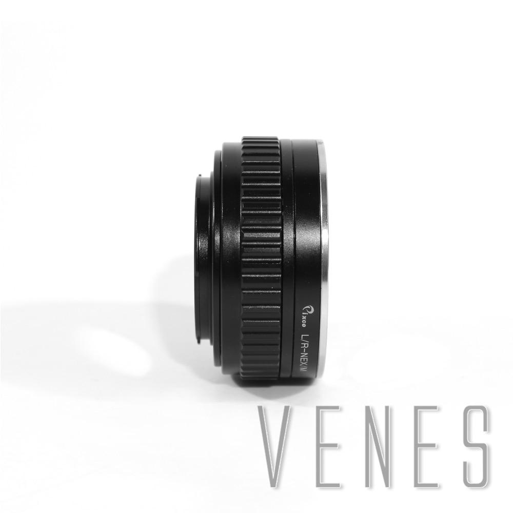 Adaptateur d'objectif de mise au point Macro à infini réglable pour Leica R à Sony E monture NEX caméra A6300 A5100 A6000 A5000 NEX-3N