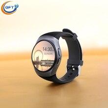 Gft kw18 mtk2520c smart watch sim geschäfts runden männer smartwatch android 3g telefon uhr mit pulsmesser mtk2520c uhr