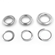 ( 50 pieces/lot) 17mm-20mm Inner diameter Metal hole Clothing & Accessories. corn. Eyelets. Rings. rivet snaps Eyelet installa