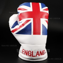Brand New One-piece England Union Jack Flag Golf Boxning Racing Driver Huvudskydd för Golf Driver Fairway wood Gratis frakt