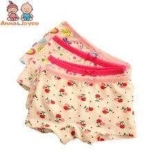 3pcs/Lot Girls Underwear Boxer Cotton Panties for Kids 2-10 Years