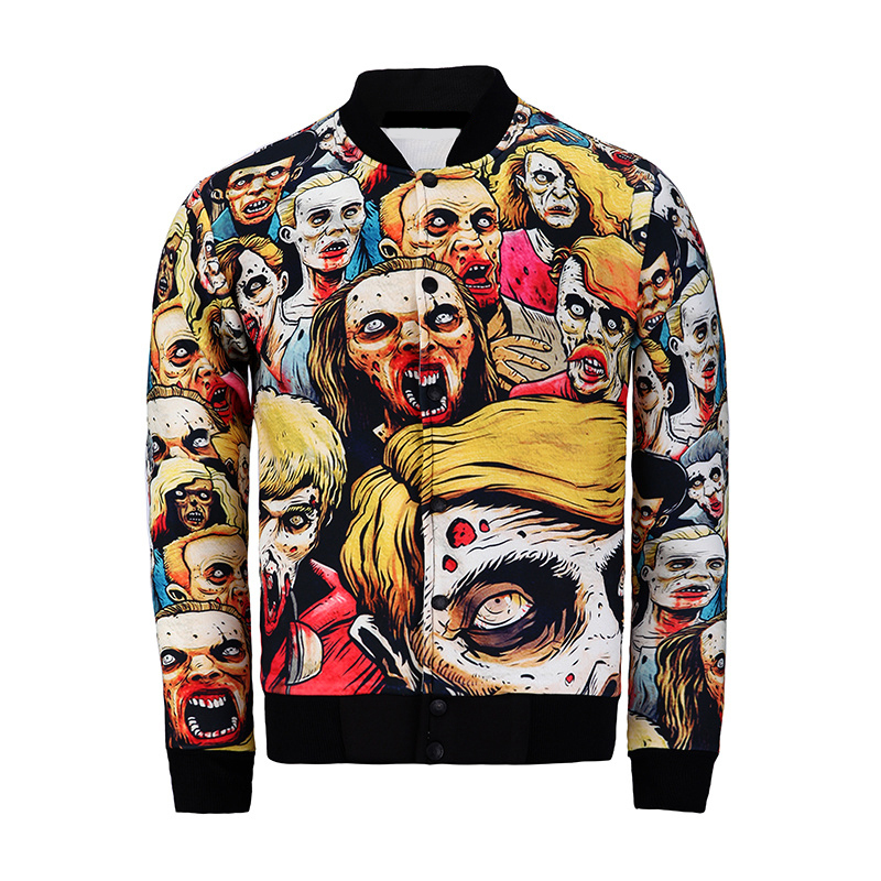 Compare Prices on Zombie Baseball Jacket- Online Shopping/Buy Low ...