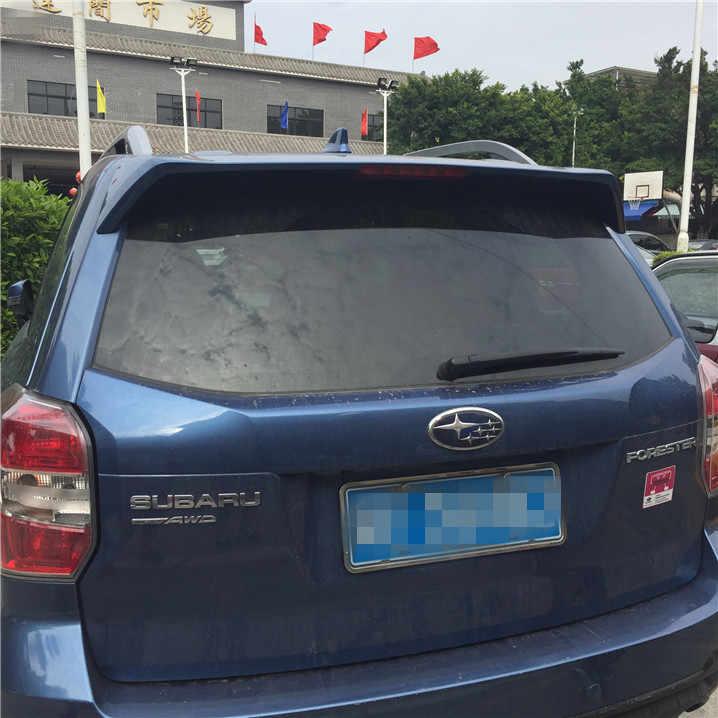 לספוילר סובארו פורסטר ABS חומר צבע פריימר האחורי ספוילר לסובארו פורסטר האחורי לרכב האגף ספוילר SE 2008-2012