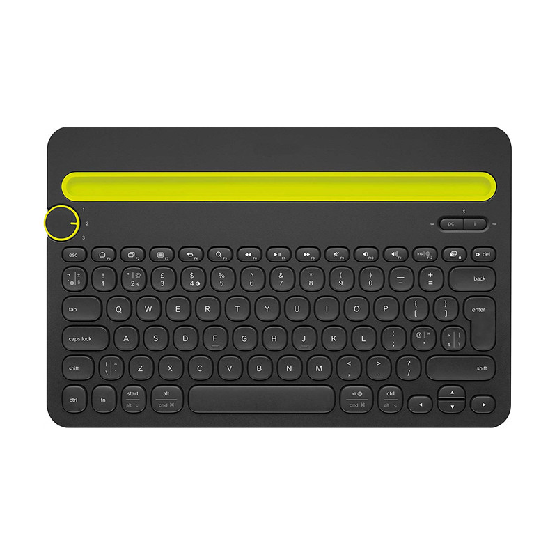 Fanshu Bluetooth Multi Device Wireless Keyboard K480 for Windows and Mac Computers Xiaomi Android and iOS Tablets and Smartphone