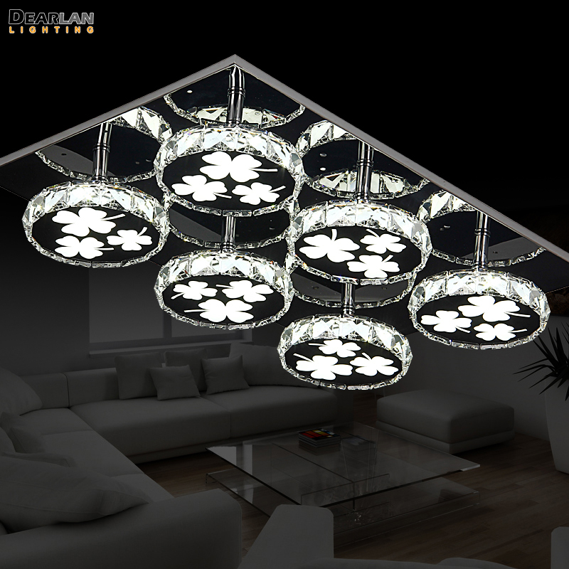 Good Quality New LED Ceiling Light Fixture Flush Mounted Ceiling Lamp lustre for Living Dining room Hotel Project LED Ceiling