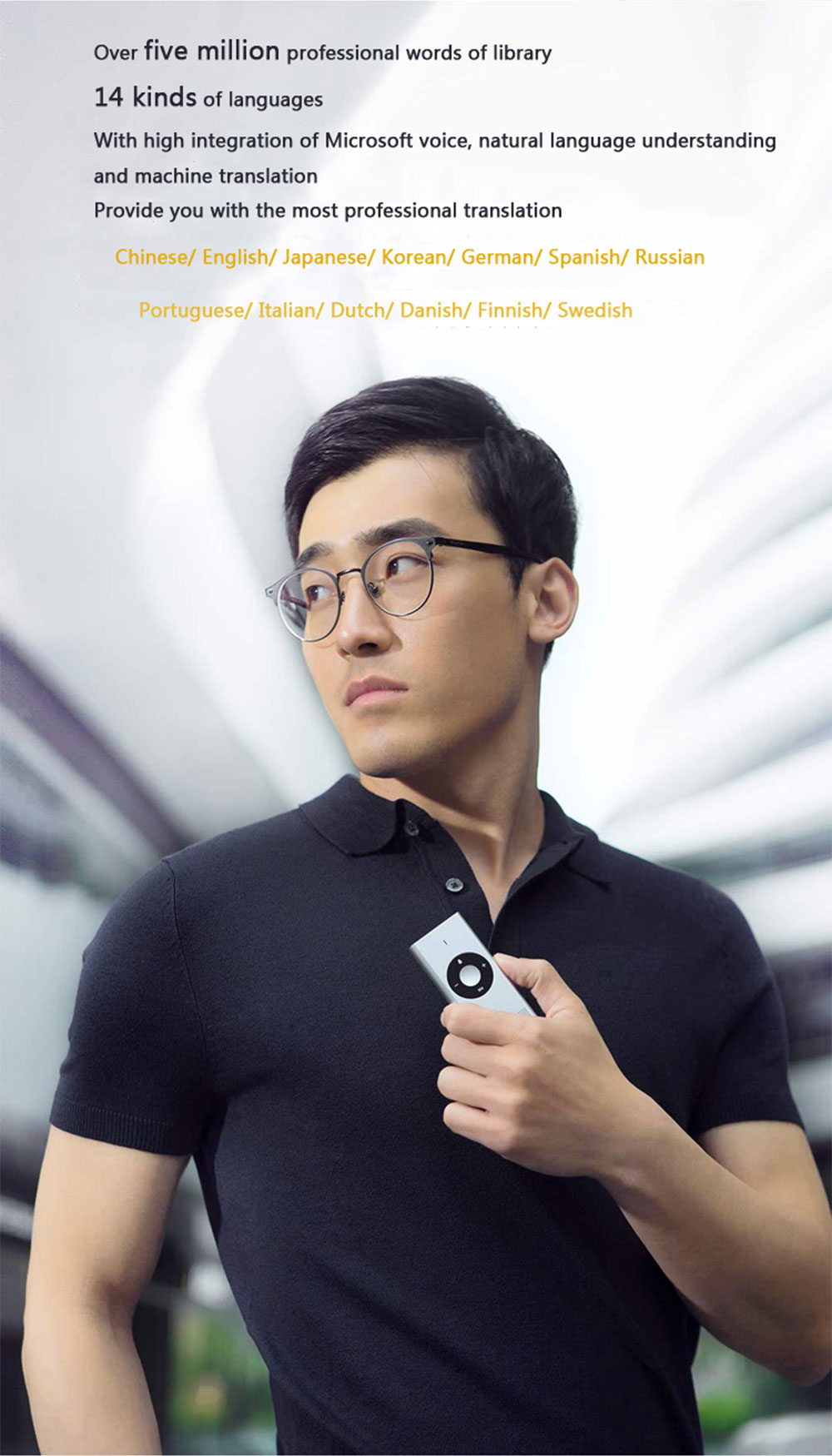 Xiaomi Mijia AI Voice Translator Interpreter (1)