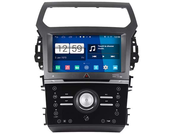 S160 Android Car Audio FOR FORD EXPLORER 2012 2014 AUTO AIR VERSION car dvd gps player