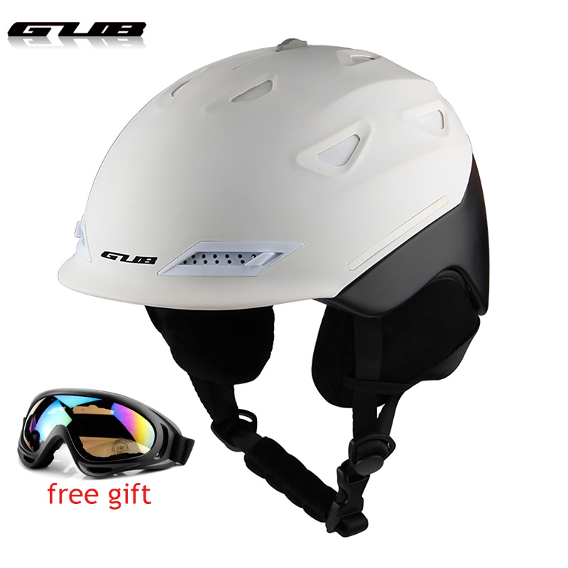 Adult Ski Helmet Man Women Skating Skateboard Snowboard Snow Sports Helmet
