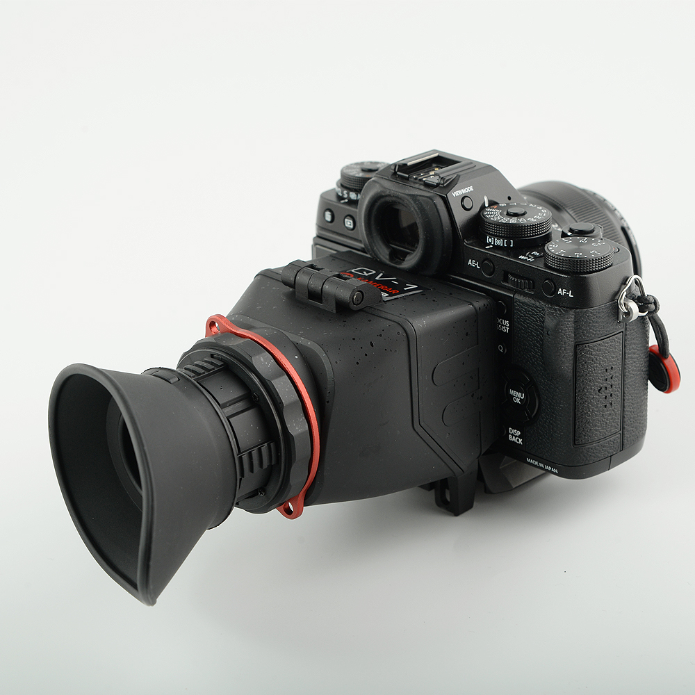 KAMERAR QV-1 LCD Viewfinder For 3-3.2 CANON Nikon Sony Olympus DSLR Cameras 3x lcd foldable viewfinder