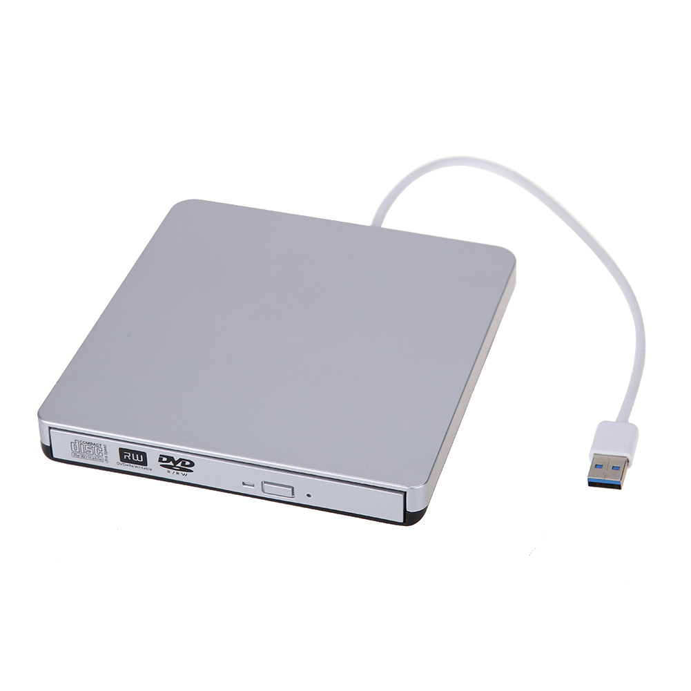 portable usb 3 0 slim external cd dvd rw cd rw dvd burner writer drive for pc mac laptop netbook. Black Bedroom Furniture Sets. Home Design Ideas