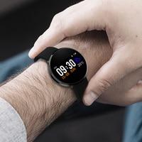 New IP68 waterproof Smart Watch Men Women Heart Rate Monitor Blood Pressure Fitness Tracker Smartwatch Sport Watch f android ios