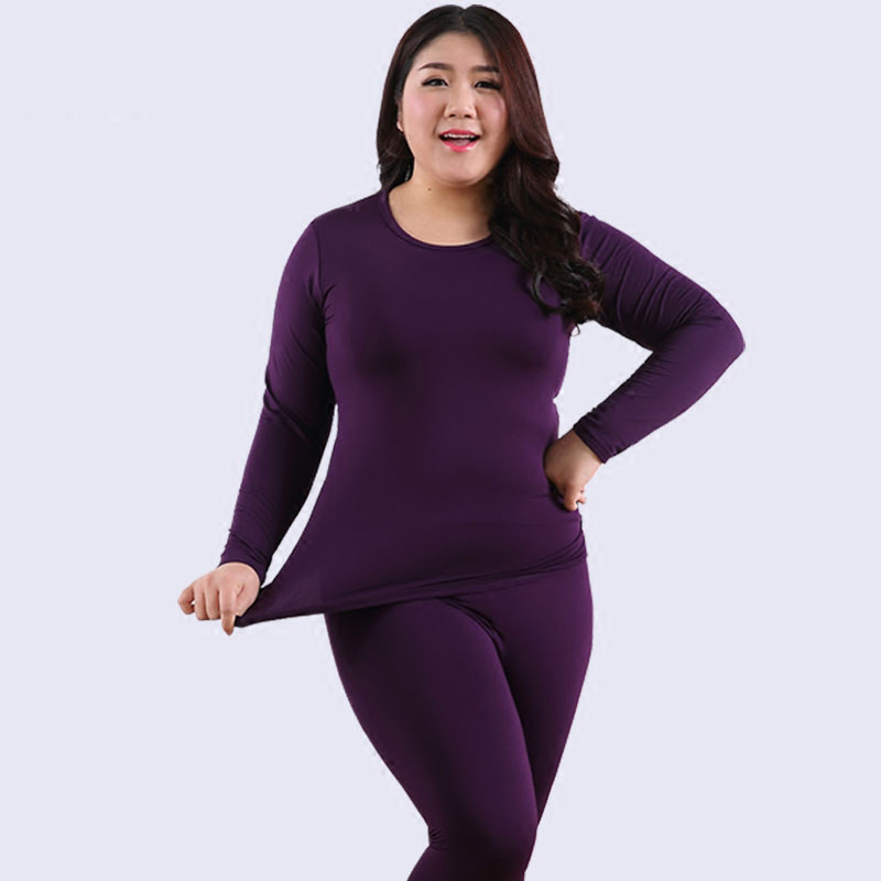 Women's Thermal Underwear Fleece Long Johns For Women Sexy Lingerie Slim Warm Underwear For Women Ropa Mujer Invierno Plus Size