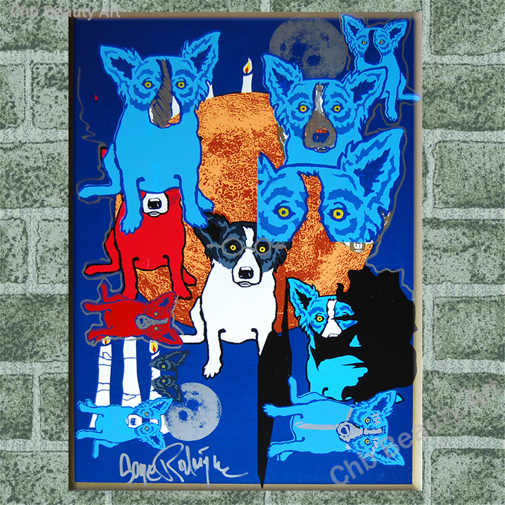 Popular Rodrigue Blue Dog-Buy Cheap Rodrigue Blue Dog lots from ...