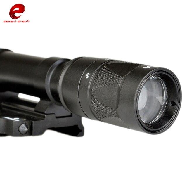 Phần tử SF M620w Chiếu Sáng Ngoài Trời Mũ Bảo Hiểm Hướng Dẫn Đường Sắt Chiến Thuật Đèn Pin Đèn Pin Ex378 Phụ Kiện