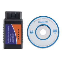 ELM 327 V1.5 Works On Android Torque Elm327 Bluetooth Interface OBD2 / OBD II Auto Car Diagnostic Scanner Free Shipping