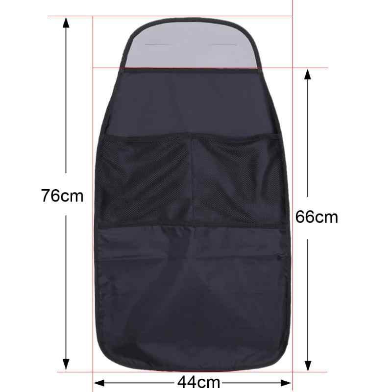 Organizador automotivo universal, assento de carro à prova d'água para trás, proteção contra sujeira para criança almofada da esteira