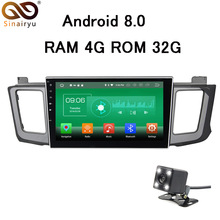 10 inch 4GB RAM Android 8.0 Car DVD GPS Radio Fit Toyota RAV4 RAV 4 2013-2015 Car Stereo TV 4G Navigation Multimedia Head Unit