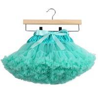 Оптовая продажа От 0 до 10 лет для маленьких девочек Многослойная Тюль вечерние танцевальные торт юбка-пачка