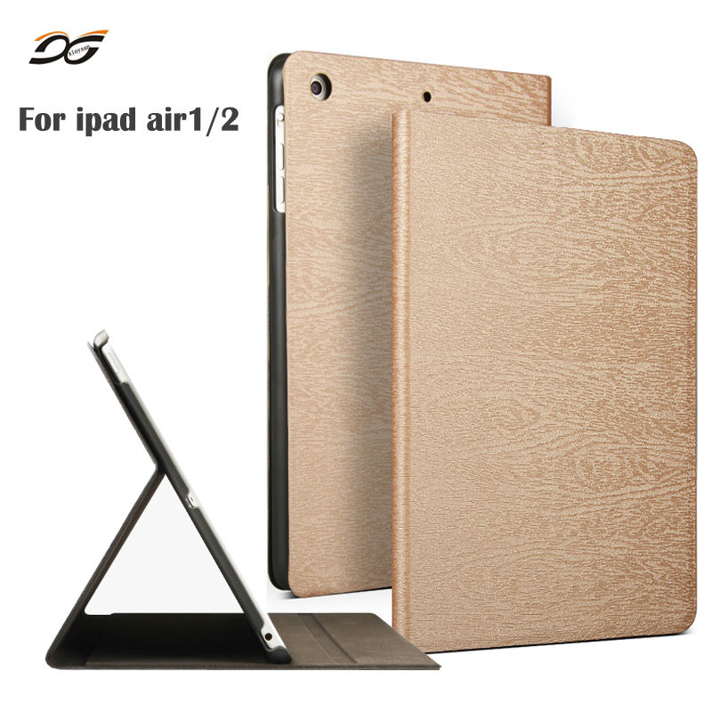 Case for iPad Air 1 Air 2 9 7inch 2017 Ecology PU Leather Folio Case Stand