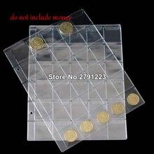 30 альбом с карманами держатели страниц папка листы для классической коллекции монет Альбом для монет
