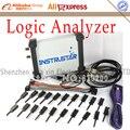 ISDS205C Upgrade version MDSO LA PC USB Analog Virtuelle oszilloskop 16 Kanal Logic Analyzer Bandbreite 20M Schaltung analyse-in Oszilloskope aus Werkzeug bei