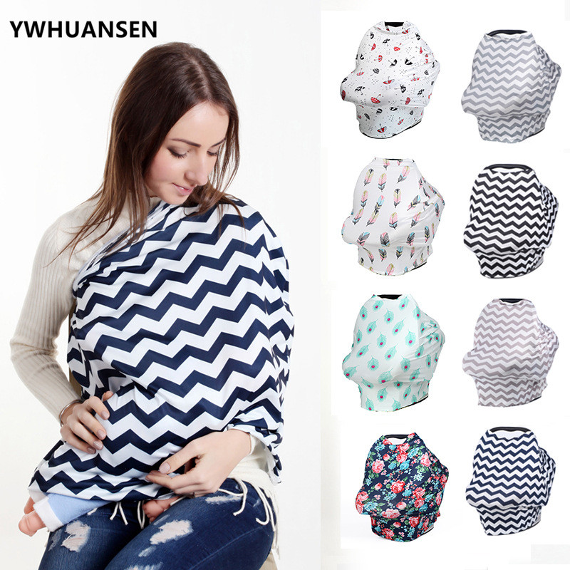 YWHUANSEN Baby Capes For Feeding Newborn Highchair Cover Lactation Breastfeeding Nursing Cover Shopping Cart Car Seat Canopy