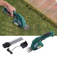 7 2V Plug In 2In1 Electric Handhold Cordless Grass Clippings Pruning Machine Branches Lawn Cutting Shears