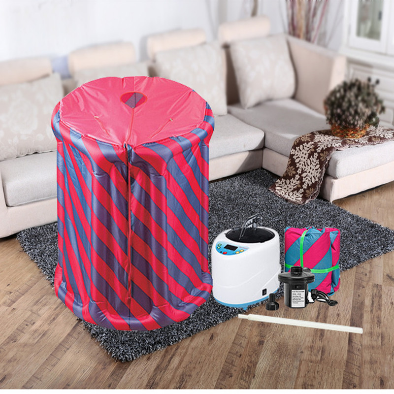 Portable Inflatable Steam Home Sauna Weight loss Calories Burned Household sauna box steam fumigation machine in Sauna Rooms from Home Improvement