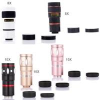 Clip 8X 10X Telescope Mobile Phone Lens Telephoto Len For Xiaomi Redmi 4X LeEco Le Pro