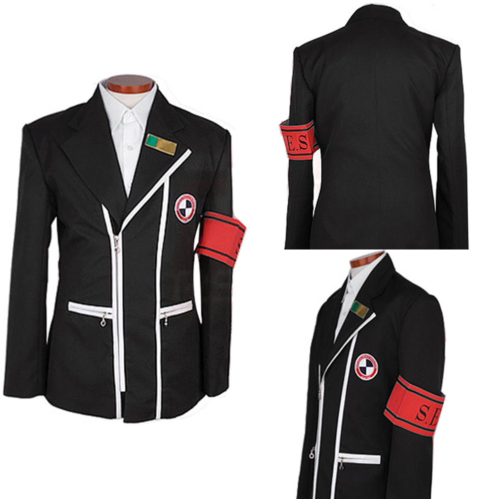 P3 Shin Megami Tensei: Persona 3 Cosplay Costume Gekkoukan Cosplay School Boy Uniform Jacket Coat Only