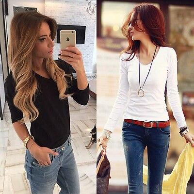 2016 Fashion font b Women s b font Loose Long Sleeve Cotton Casual font b Blouse