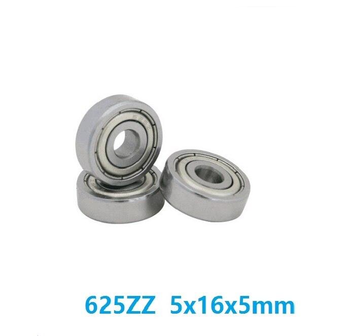 500pcs lot 625ZZ 625 ZZ 625 ZZ 2Z 625Z 5 16 5mm Deep Groove Ball bearing