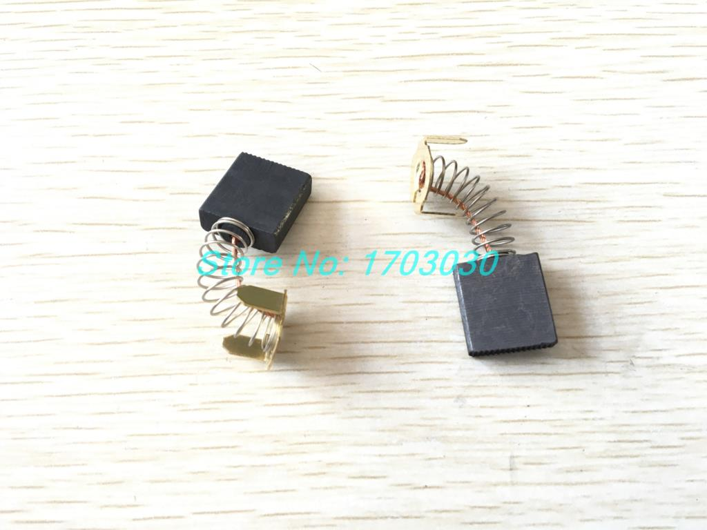 200 Pcs DC Electric Motor 7x17x18 Carbon Brushes200 Pcs DC Electric Motor 7x17x18 Carbon Brushes
