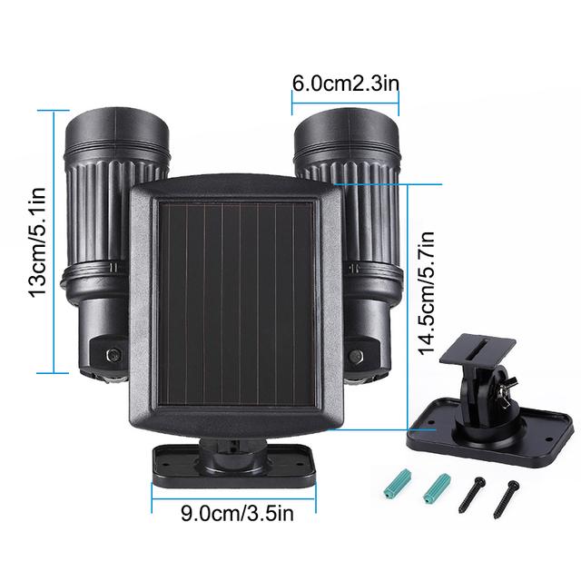 14 LEDs PIR Motion Sensor Solar Power LED Light
