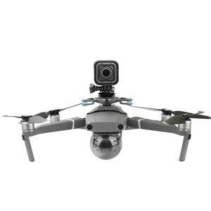 Image 2 - Para a Ação Gopro Camera Estabilizador Suporte para DJI Mavic 2 Pro/Zoom Zangão Adaptador de Suporte de Montagem Acessórios