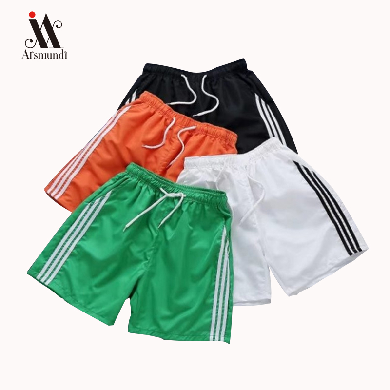 Summer Casual   Shorts   Men Striped Men's Sportswear   Short   Sweatpants Jogger Breathable Man   Short   Trousers Fashion 3XL