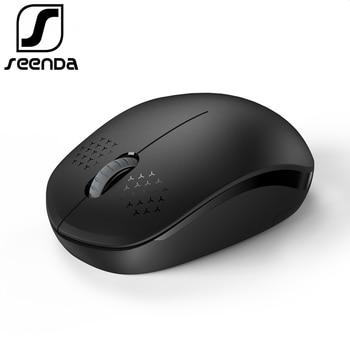 Беспроводная оптическая мышь для компьютера 2,4 ГГц, SeenDa