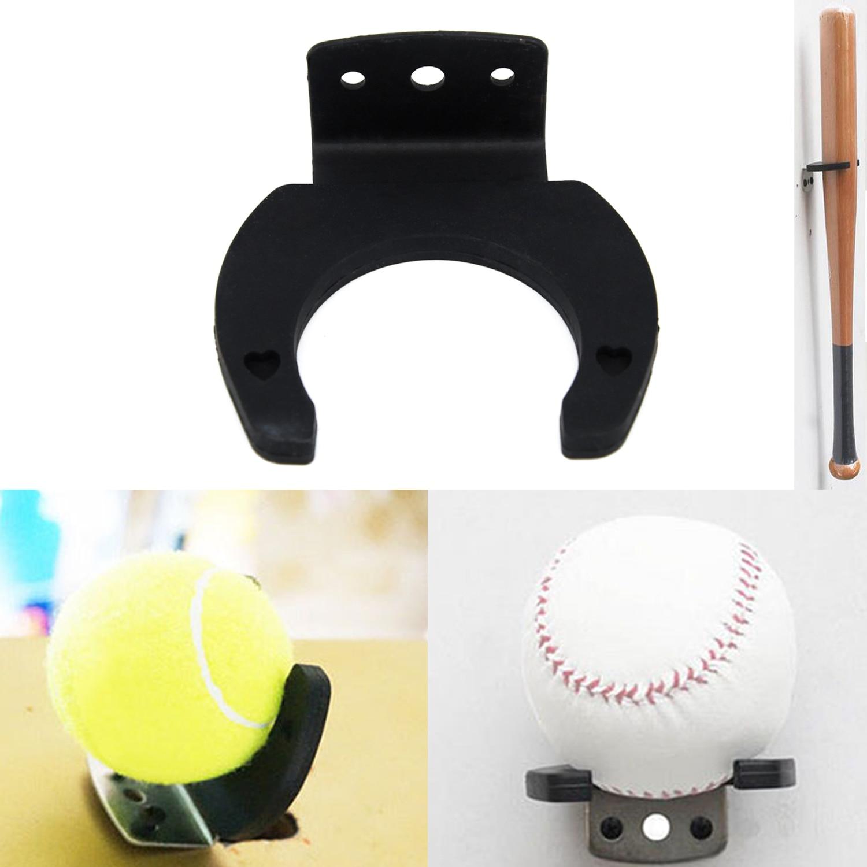 Vertical Baseball Bat Softball Ball Display Wall Mounted Rack Holder Hanging Kit