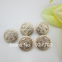 (CM555 28mm) Lot 80 Pcs Round Shape Shank Button For Clothes Sewing Craft(China)