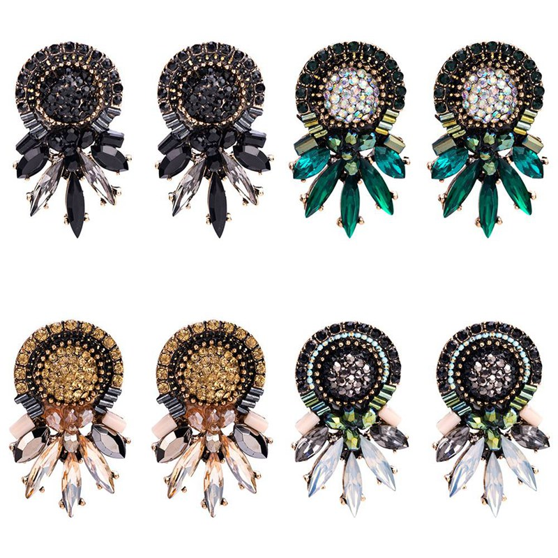 Bohemian Alloy Earrings Special Design Multicolored Wedding Gifts Bohemian Hot Cheap Stud Earrings for Women Vintage Jewelry