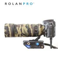 ROLANPRO Lens Clothing Camouflage Coat Rain Cover for Nikon AF S 300mm F/4D ED lens Protective Sleeve Guns Case DSLR Camera Bag